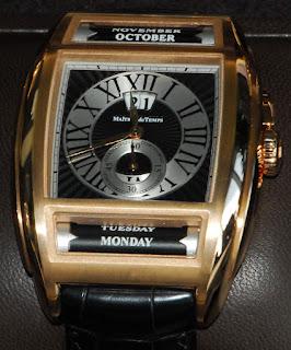Montre Maîtres du Temps Chapitre Deux en or rose Cadran noir référence C2T.55.21.121