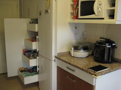 Arrumação gavetas cozinha