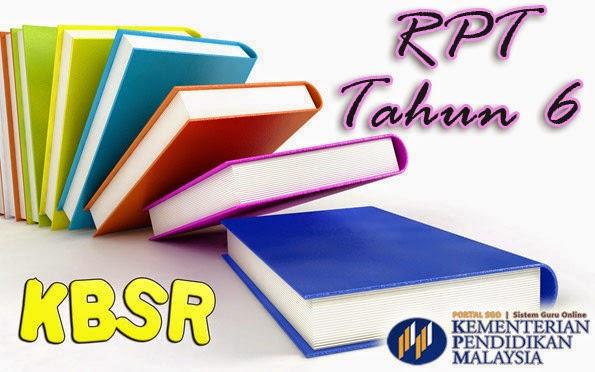 RPT KBSR Tahun 6 Pendidikan Sivik dan Kewarganegaraan