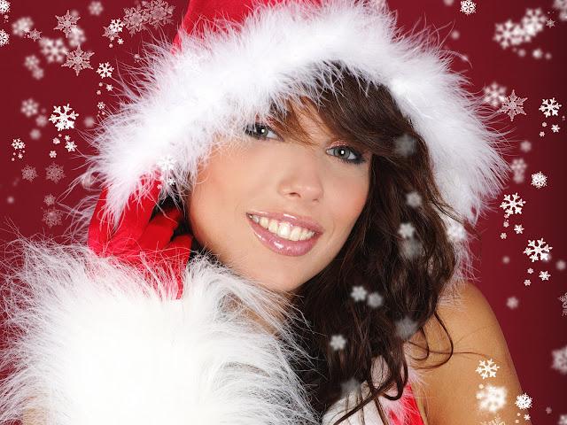 santa sexy girl
