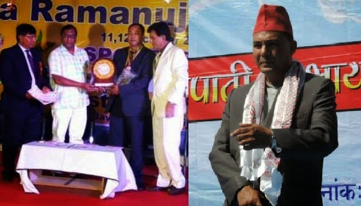 Anand Pradhan awarded National Best Teacher Award-2014