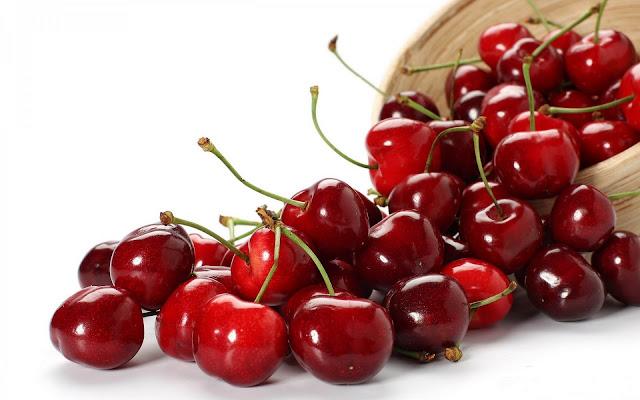 Fruit Red Cherries