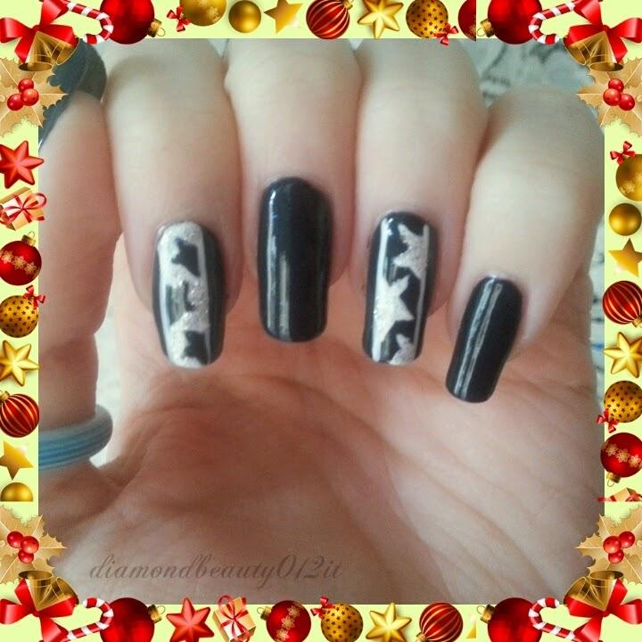 nail art stella dell'avvento