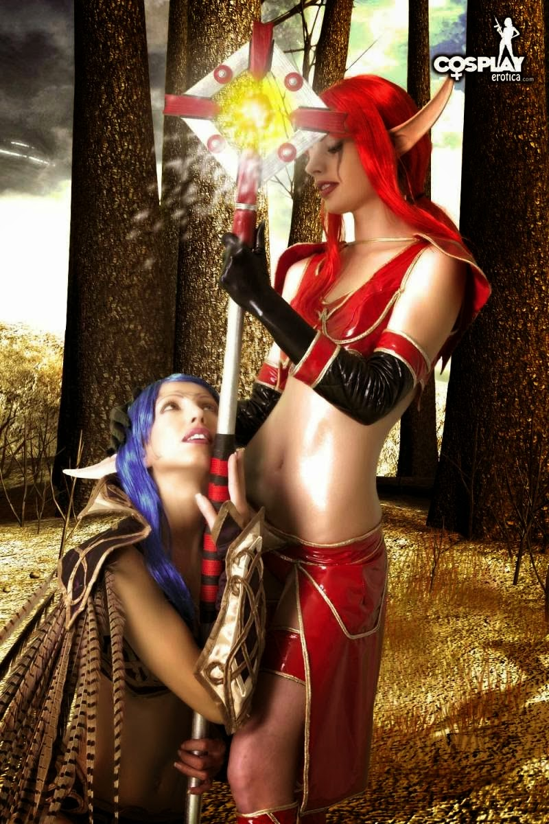 Cosplay world of warcraft sex xxx clips