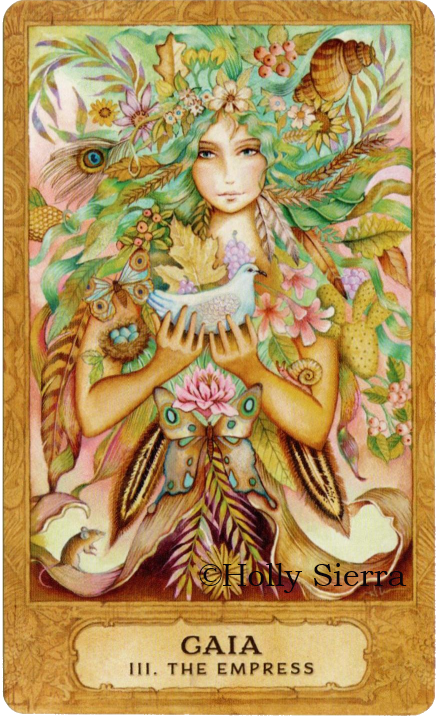 Chrysalis Tarot, Gaia - The Empress