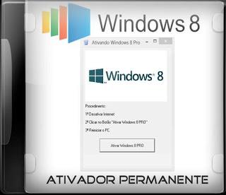 Download - Ativador Permanente para o Windows 8 - 2013