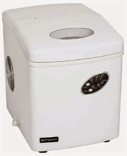 Emerson Portable Ice Maker White IM90W Series - Best Countertop Ice ...