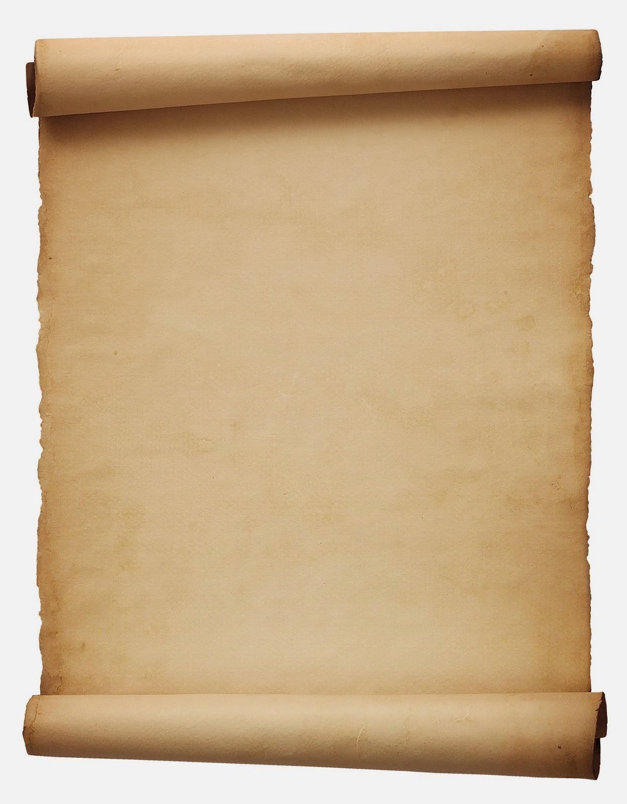 Pergamino Blanco - Descargar Caratulas