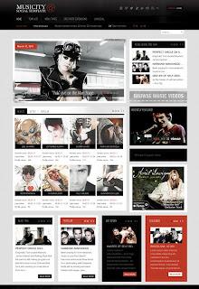 Musicity - Joomla Template GavickPro