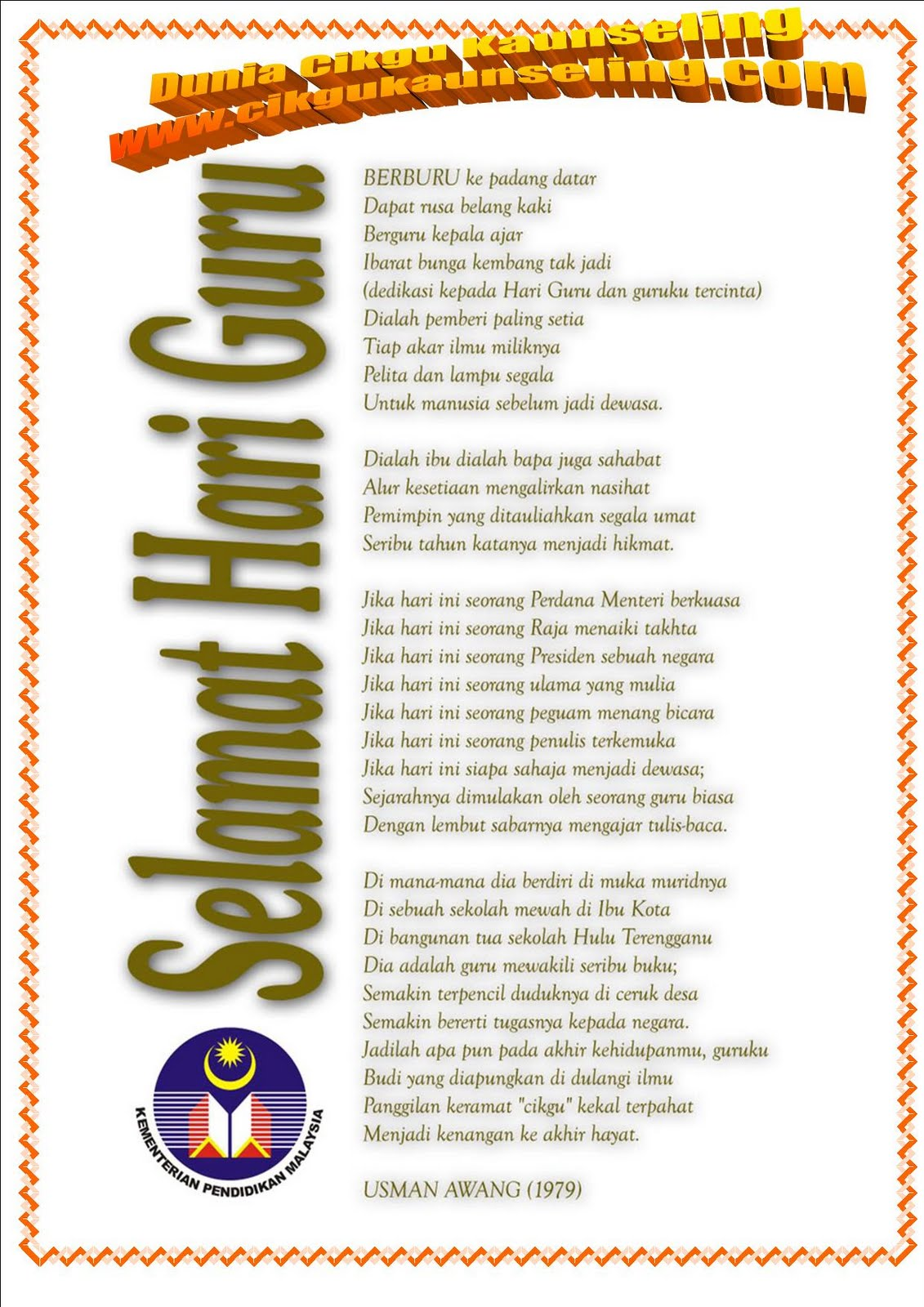 published 5 08 2011 06 00 00 pm author cikgu ma