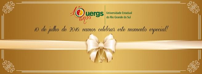 UERGS | 15 anos