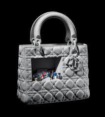 bolsa exposição Lady Dior as Seen by
