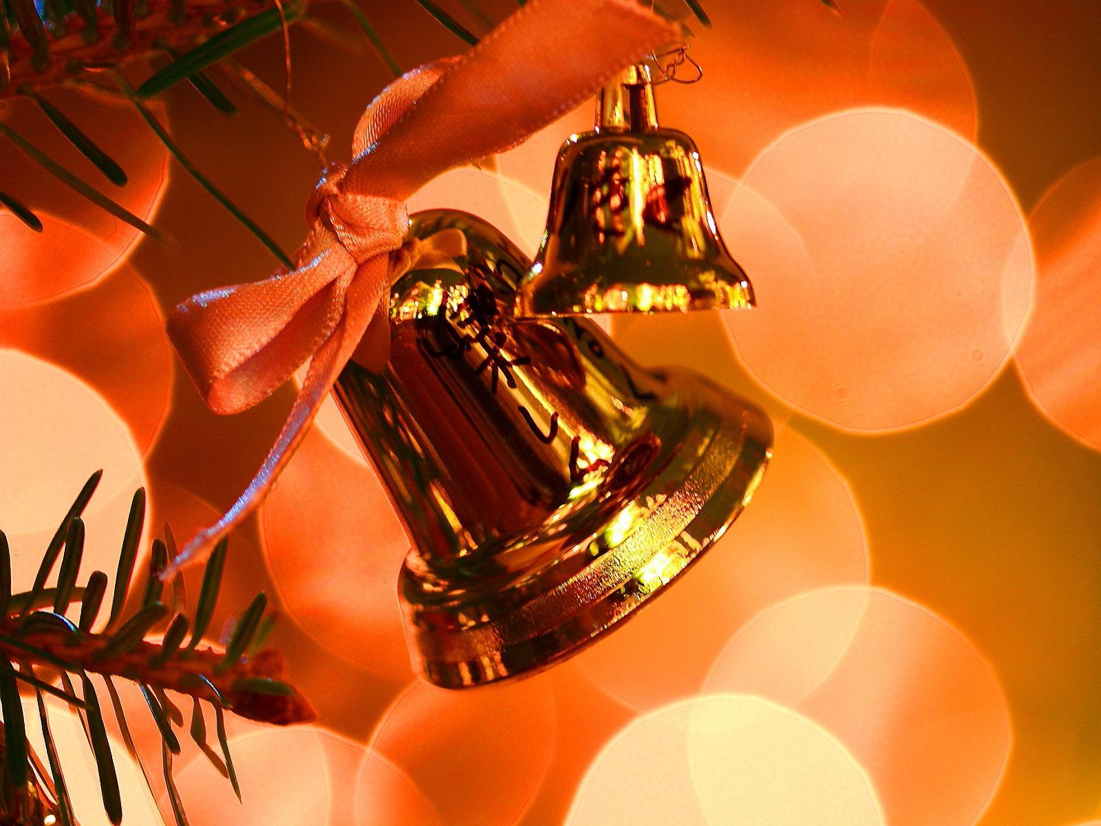 Best desktop hd wallpaper christmas bells wallpapers - Campanas de navidad ...