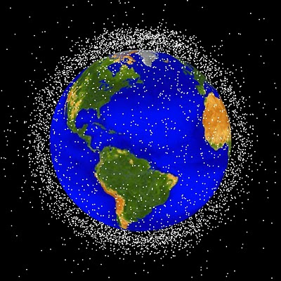 Orbital Debris in Low Earth Orbit