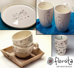 Florcita Cerámica Handmade