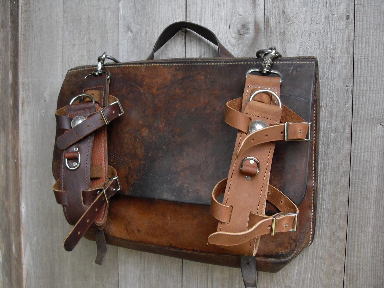Leatherwerk swiss army messenger style bag with bottle harness swiss army messenger style bag with bottle harness colourmoves Gallery