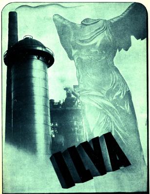 L'ILVA in una pubblicità del 1943
