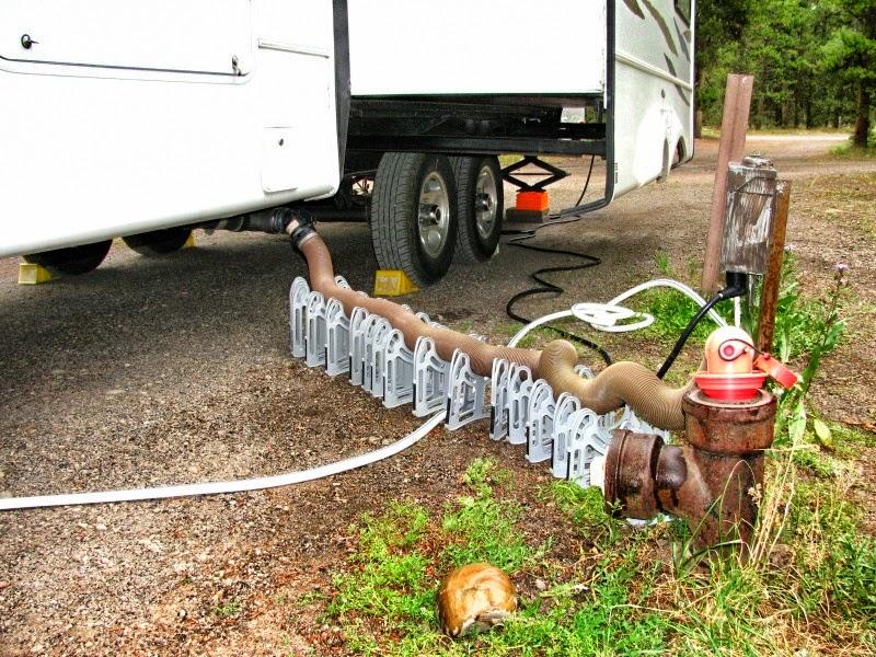 RV Sewer Hose Sanitation