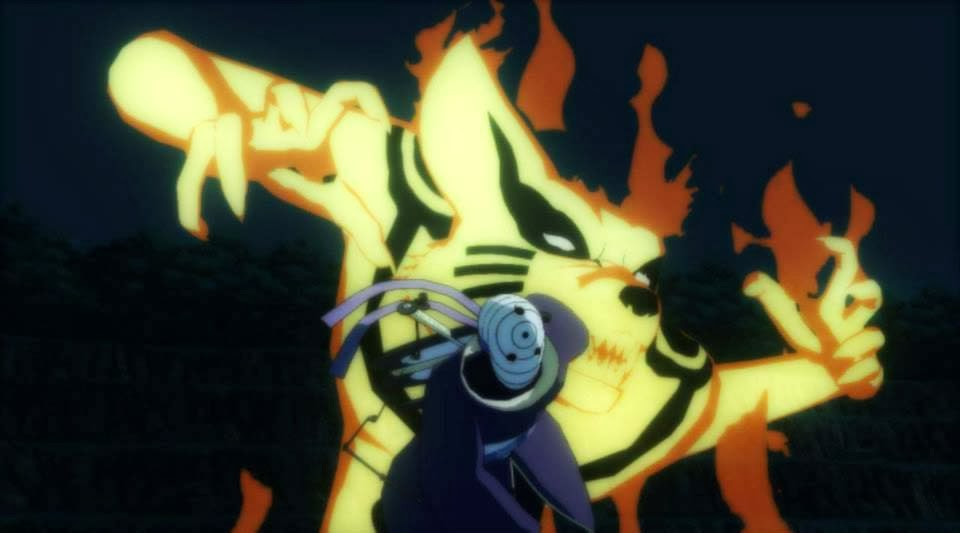 Naruto Kurama Mode Revolution