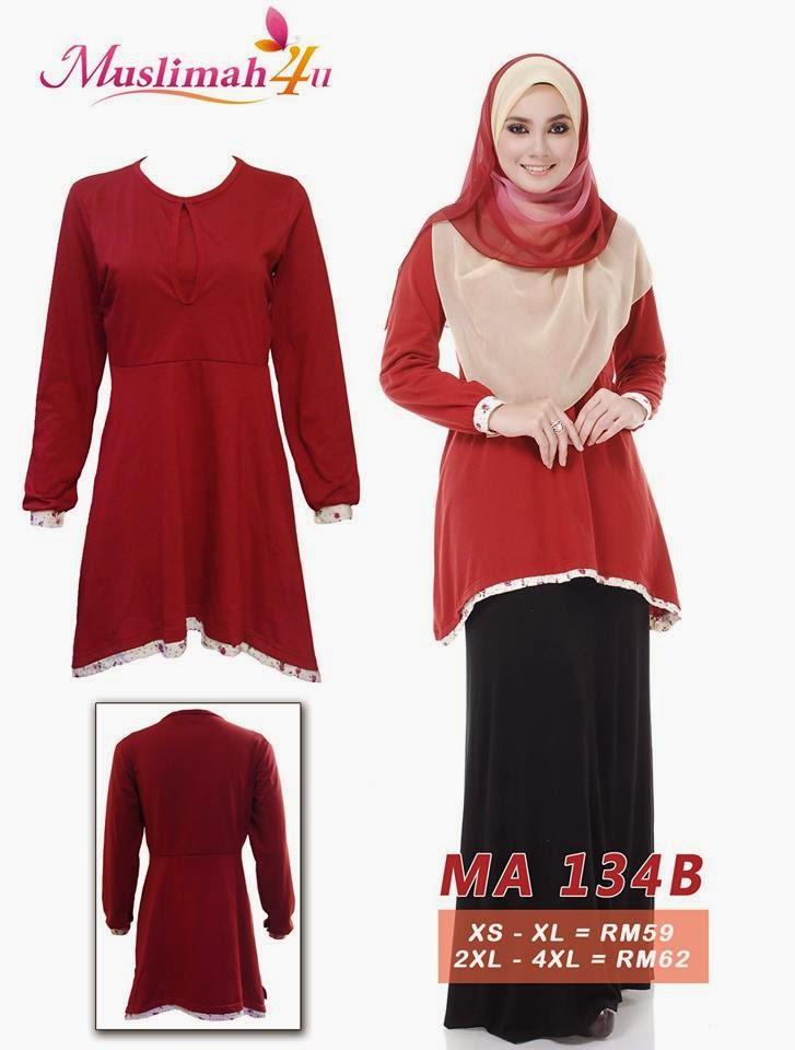 T-shirt-Muslimah4u-MA134B