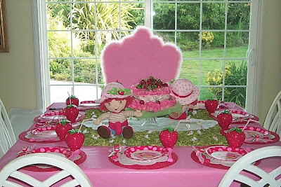 Strawberry Shortcake Cake Decoration