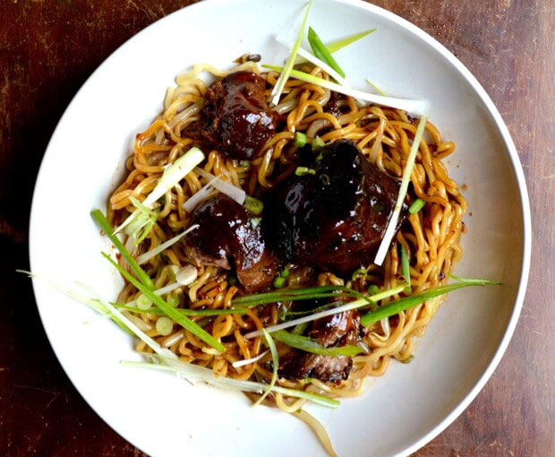 Braised Oxtail Noodles | Chinese Recipes