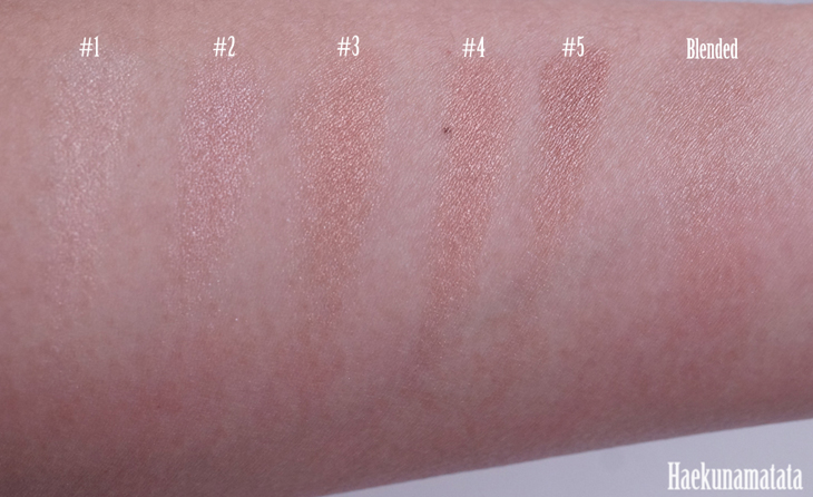 Bobbi Brown Bronze Shimmer Brick Swatch and Review 5