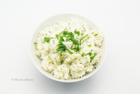 Cauliflower-Broccoli Risotto