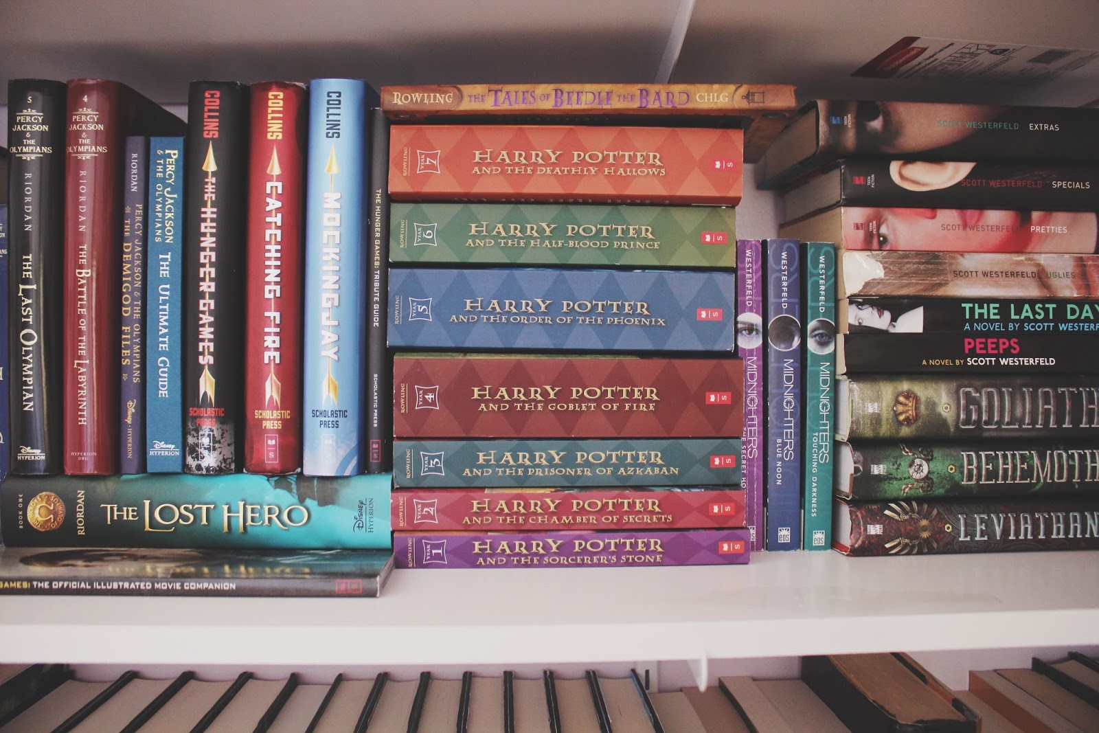 A Lot Of People Organize Their Books Differently And The Way That I My Bookshelf Is By Putting Them In Sections Genre