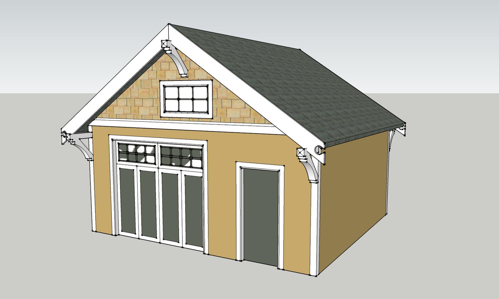 Laurelhurst craftsman bungalow garage dreaming for Bungalow garage