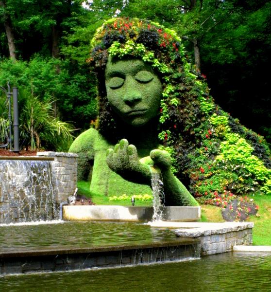 Atlanta Botanical Garden Skyline Gardens: Whitehaven: Imaginary Worlds At The Atlanta Botanical Gardens