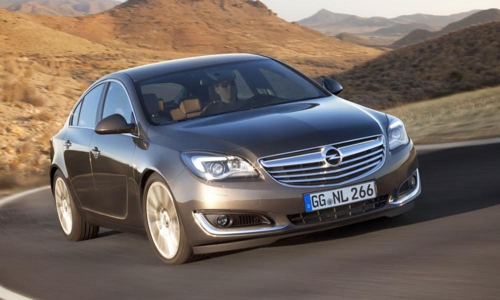 Opel Insignia in miscare