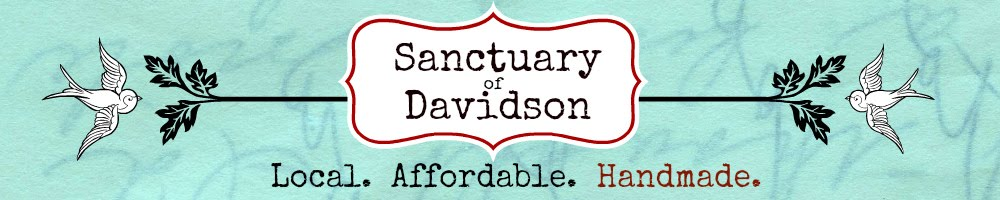 Find my art locally at Sanctuary of Davidson in Davidson, N.C.