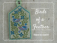 Birds of a Feather Punch Needle Pattern $6.00