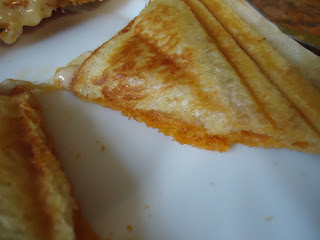 Cheese and Tomato Pesto Toastie