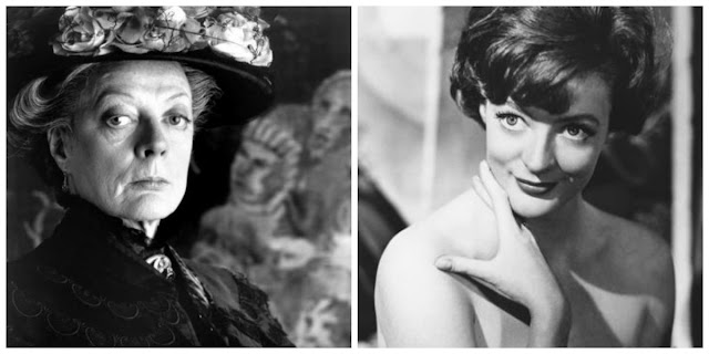 maggie smith actress old young age downton abbey