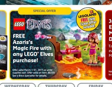 lego calendar free