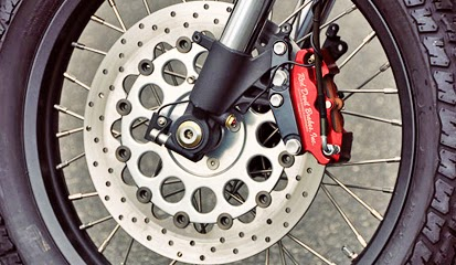 Tips dan Cara mengatasi Tanda Kerusakan Rem Cakram  Motor