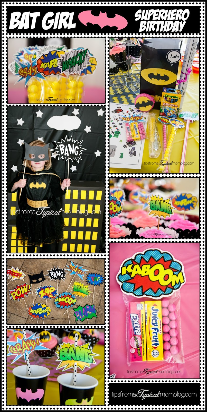 Superhero Girl Birthday Party Ideas and Free Printables  Tips from a