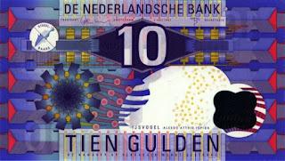 bankbiljet van 10 gulden