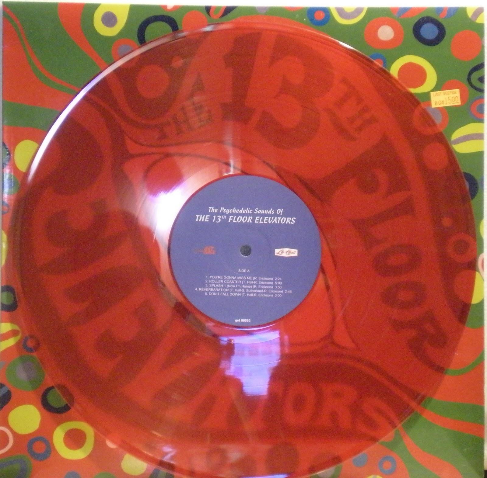 Catch a groove more multi colored vinyl for 13th floor elevators vinyl box set