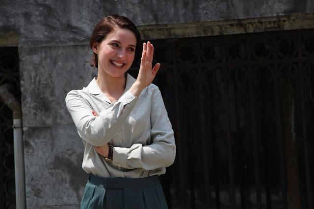 La película Gernika da por concluido el rodaje en el palacete de la Finca Munoa