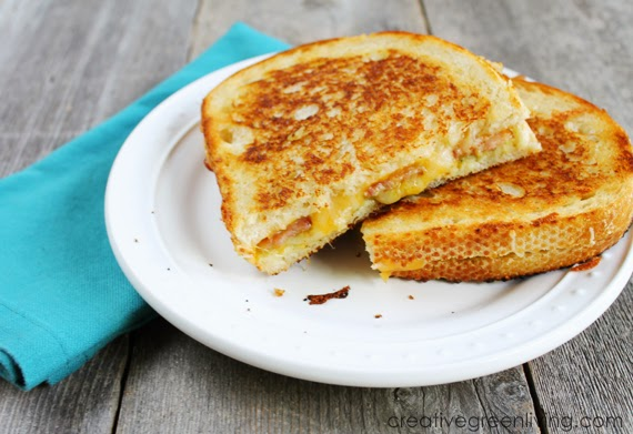 Bacon & Guacamole Grilled Cheese Sandwich - Creative Green Living