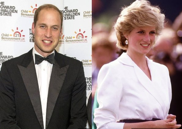Prince William Delivered An Emotional Speech About Princess Diana