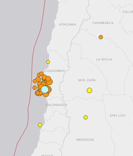 chile earthquake photo essay