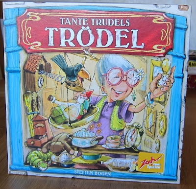 Tante Trudels Trodel - The box artwork