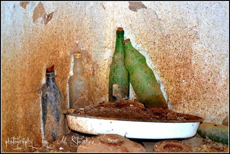 стара бутилка от олио