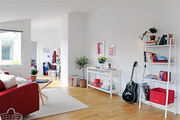 Decor&me: consigue el look weekend: un salÓn rojo y blanco