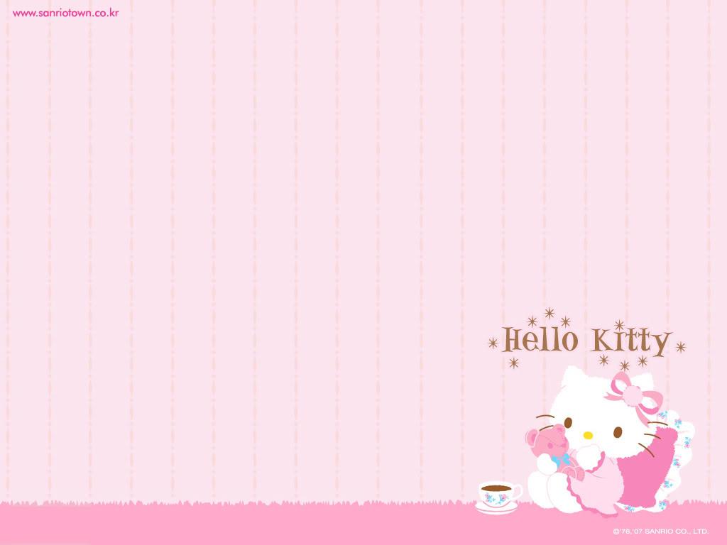 Taek Tha Wallpaper Hello Kitty Imut Dan Lucu