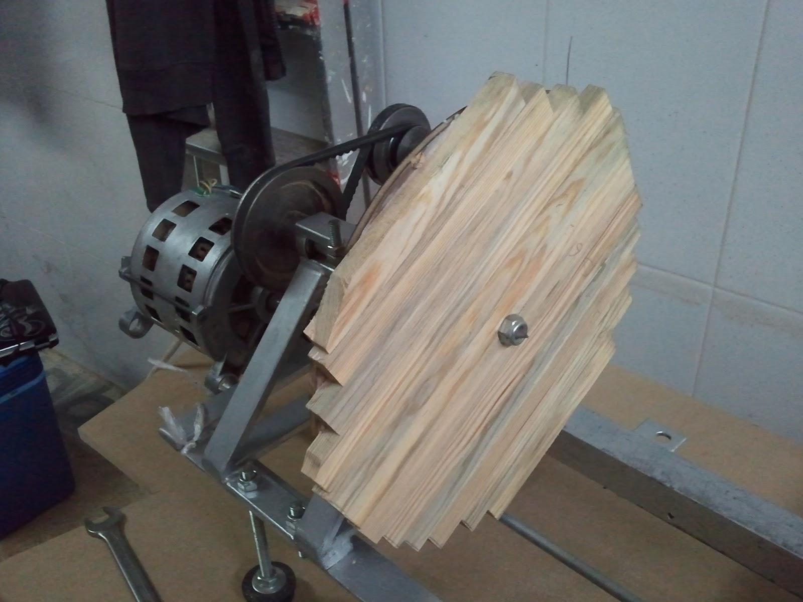 Torno casero artilugios en casa - Taladro de la madera ...